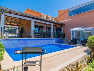 4 bedroom Villa in es Mal Pas, Balearic Islands, Spain : ref 5575607