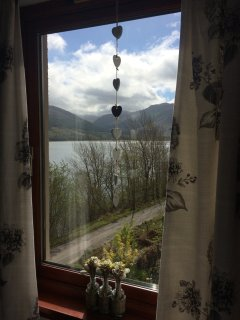 View from King size Bedroom at Taigh a' Bhraoin