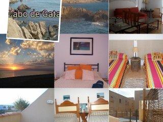 Casa con piscina en parque natural de Cabo de Gata