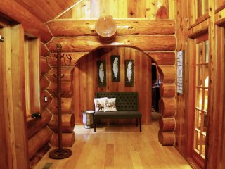 Sol Duc River Log Cabin