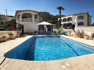 Costa Blanca Luxury Villa With Sea Views/Private Pool, 300m to Beach & Marina