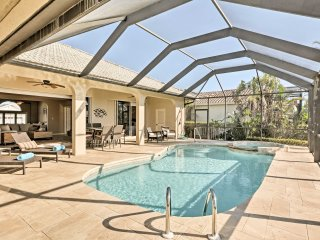 Waterfront Marco Island Home w/ Pool, Spa & Dock!