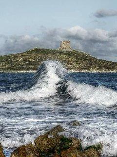 Punta passaggio: il mare occidentale incontra quello orientale...