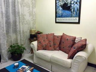 a comfortable yet stylish living room