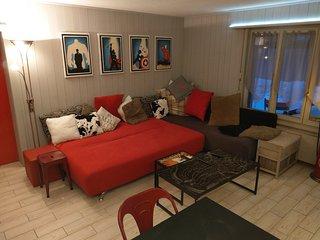 Verbier appartement 2 pièces (Place Centrale)