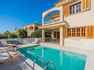 4 bedroom Villa in Alcanada, Balearic Islands, Spain : ref 5575752