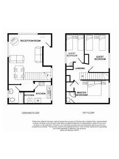 Stream Cottage floor plan