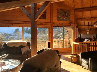 SPECIAL OFFER JANUARY Chalet Serein,Fabulous Living,Jacuzzi/Sauna,12mins Morzine