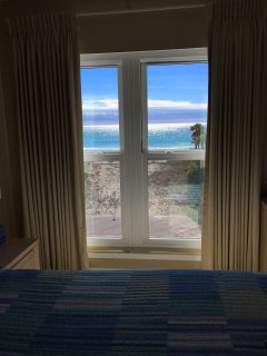 View of beach from Master Bedroom