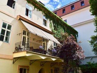 Luxury, Grandeur, Space Terrace Garden Old Town sq, Ch-bridge 2 min yet Quiet