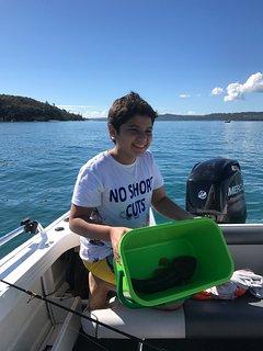 Flathead caught at Peel Island with Jennt