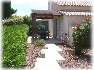 Villa ZorhaBellha climatisee 2 etoiles avec jardin a 3km de la mer