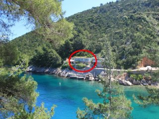One bedroom apartment Cove Mala Pogorila bay - Mala Pogorila (Hvar) (A-8952-a)