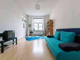 Apartment 1 km from the center of Hanover with Internet, Parking, Balcony, Washi