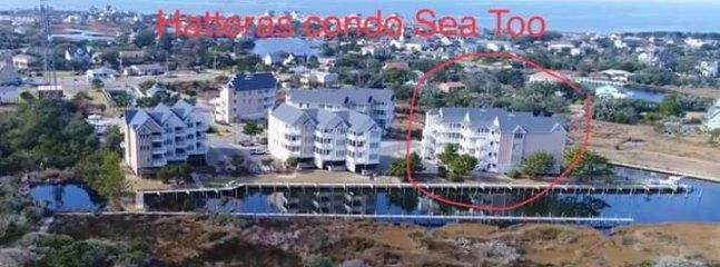 Aerial picture of condo complex