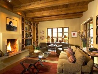 Enjoy that Santa Fe Style in Your Private Tesuque Compound