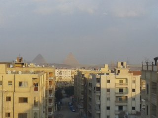 panorama pyramids view apartment