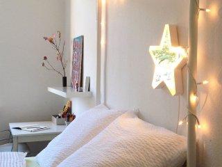 Helles Altbauzimmer, zentral, super Infrastruktur / Bright & charming doubleroom