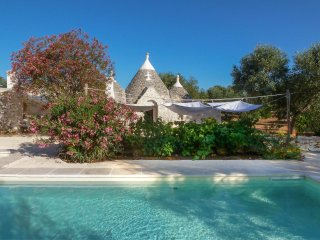 1001 Trullo with Pool and Garden in Ceglie Messapica