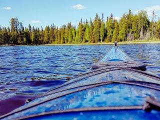 L'été le kayak est un moyen incroyable de se déplacer !