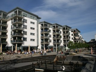 Upmarket apartment at Bratsberg Brygge