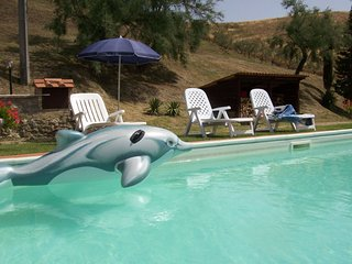 Fattoria Spedaletto Apartment Sleeps 5 with Pool - 5490481