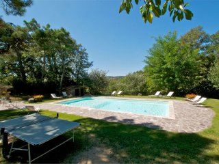 Molino del Calcione Villa Sleeps 9 with Pool Air Con and WiFi - 5490096