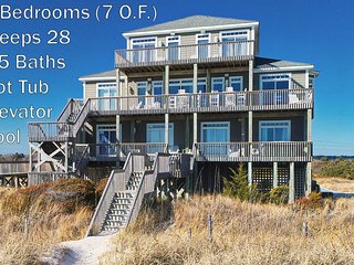 Hampton Colony 642 Oceanfront! | Community Pool, Hot Tub, Elevator, Jacuzzi, Int