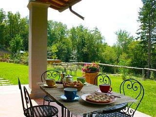 2 bedroom Villa in Poggio d'Acona, Tuscany, Italy : ref 5490586