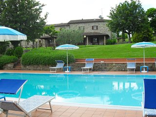 4 bedroom Villa in Subbiano, Tuscany, Italy : ref 5490516