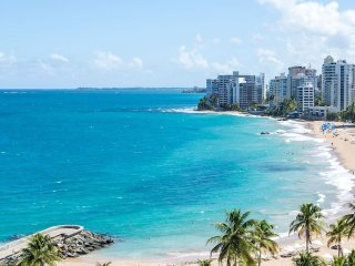 W/ POWER/WATER! 1bd  At Condado Beach