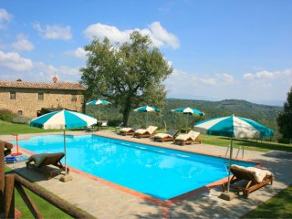 3 bedroom Villa in Ciggiano, Tuscany, Italy : ref 5490461