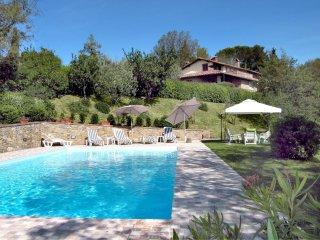 4 bedroom Villa in Monte San Savino, Tuscany, Italy : ref 5490341