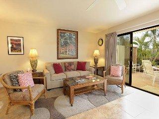Maui Kamaole J-106 - 2 Bedrooms, Ground Level, Pool & Tennis Access