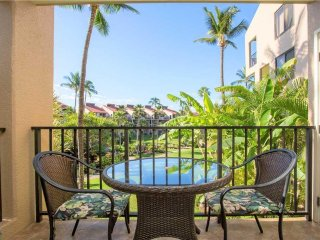Kamaole Sands 2-201 - 2 Bedrooms, Upgraded, Pool, Tennis, Across from Beach - Co