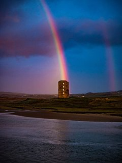 Rainbow at Lahinch Golf Course