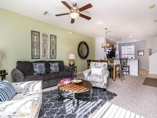 3-bed, 3.5-bath town home with patio, garage and all the special touches.