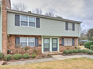 NEW! 2BR End Unit UNC Area Townhome Next to Mall!