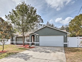 NEW! 3BR Debary House Mins - to Beach & Disney!