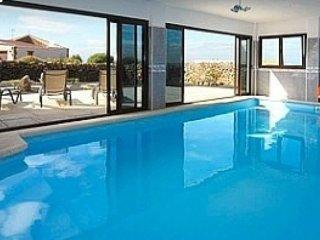 El Cotillo,El Roque luxury villa Indoor heated pool, garden sea & mountain view
