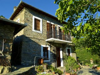 PELION HOMES | Villa Koukourava, a beautiful old stone pool house