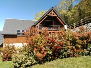Spacious chalet with terrace & Wifi