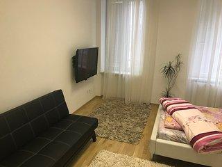 susses Apartment in einem Stadthaus in Nahe Vienna Austria Center & Free WIFI