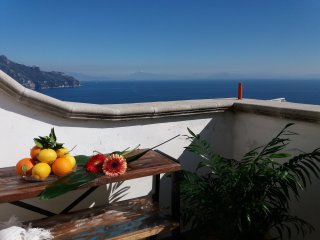 SUPER PANORAMIC Private Terrace in Amalfi