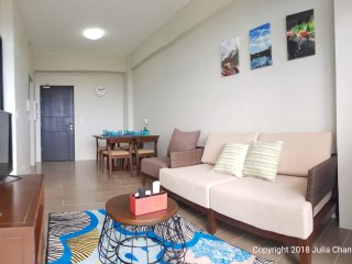 Boracay 1BR fully furnished condo, private beach, pool