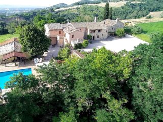 Villa with wonderful views over the Perugian Hills