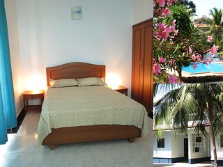 10) Spacious Airy 2 bedroom Villa, Central Arpora Sleeps 4 & Wi-Fi