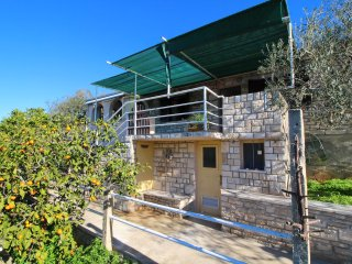 Stone House Prihonja - Two Bedroom Holiday Home with Terrace and Sea View