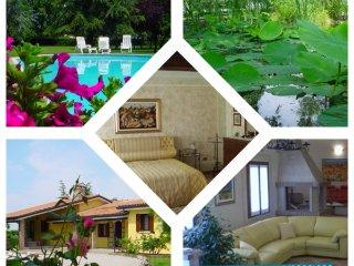 Villa con piscina, parco e laghetto. Spettacolare!