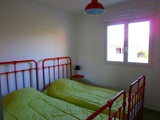 Appartement T3 neuf , climatisé,terrasse,avec vue sur les montagnes d olmeto
